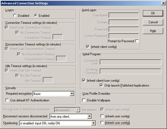 VanBragt Net Virtualization - What RDP GPO settings can do
