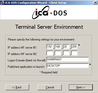 VanBragt Net Virtualization - ThinWin/ICADOS
